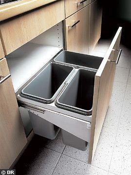 Oltre 1000 idee su poubelle coulissante su pinterest - Poubelle coulissante ouverture automatique ...