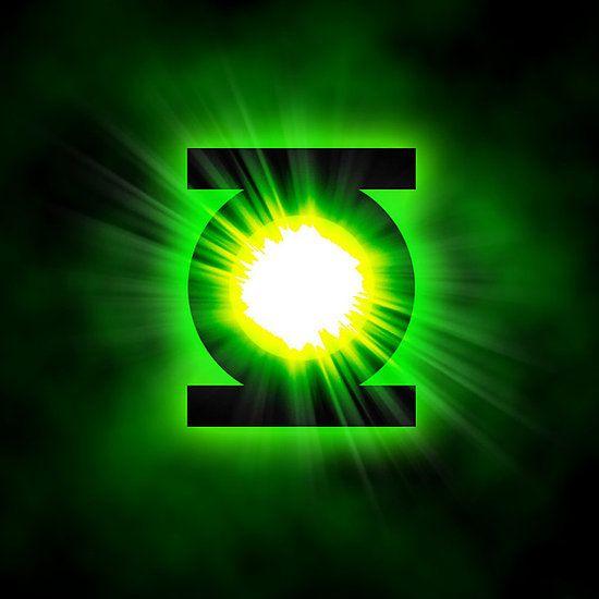 Green Lantern Superhero Logo