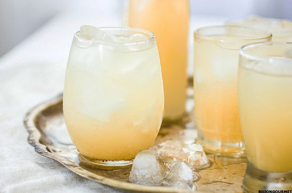 Ginger and Tito Vodka Drink