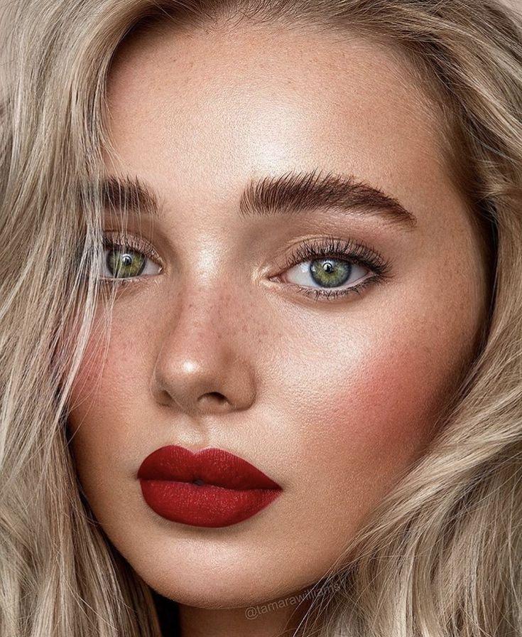 Dark Moody Lip Red Lip Makeup Red Lips Makeup Look Day Makeup