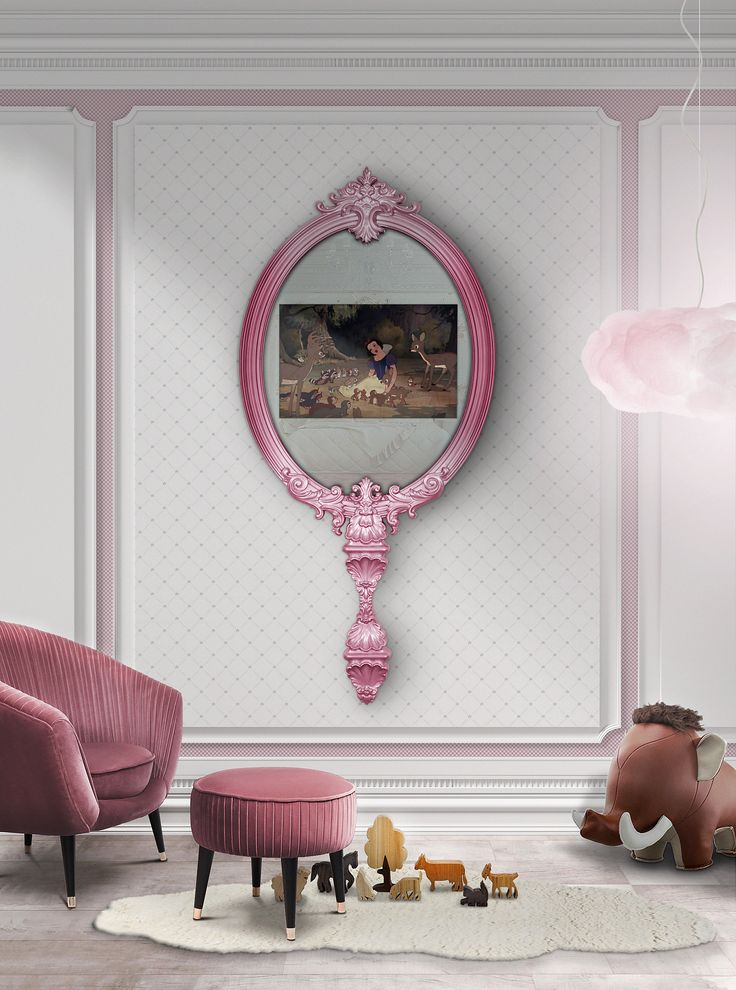 hot pink girls room The 168 best