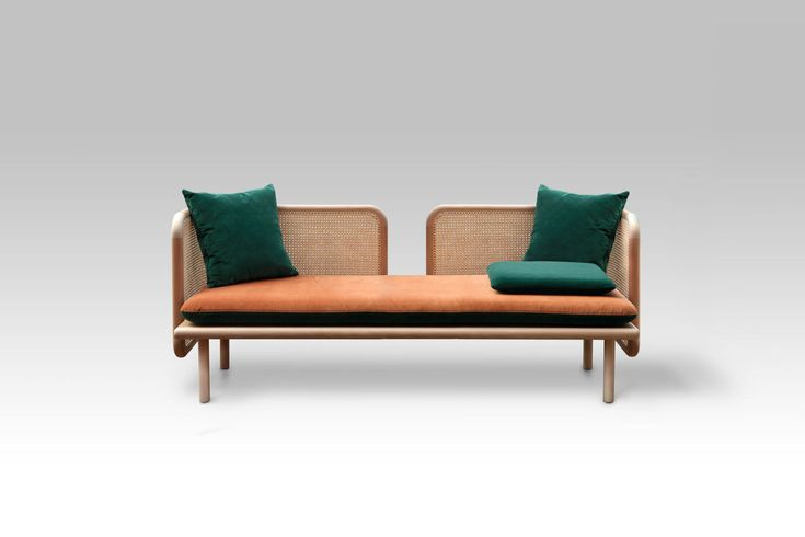 HUM: A Contemporary Sofa Made from Mixed Materials by Muar Diseño - Design Milk