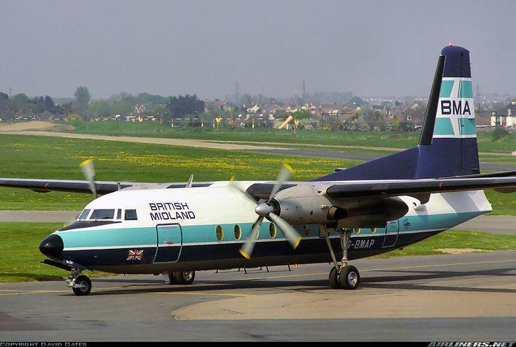 British Midland Airways - BMA G-BMAP Fokker F-27-200 Friendship aircraft picture