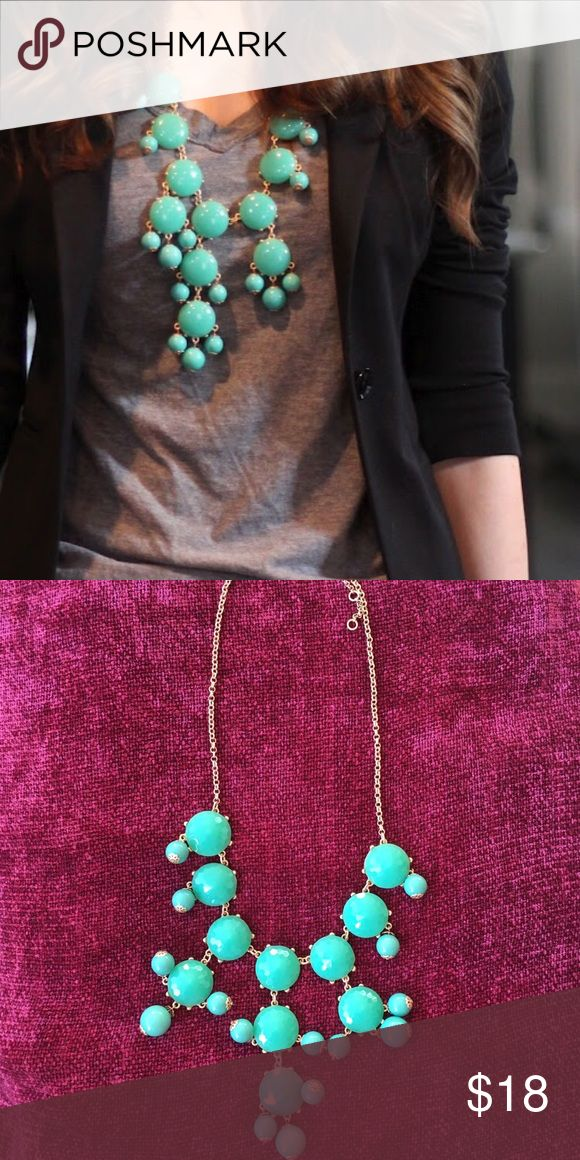 🎉HOST PICK🎉Turquoise bubble necklace Never worn. Excellent condition. Jewelry Necklaces