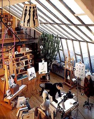 love this Artist's loft