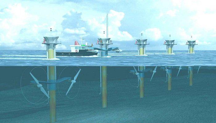 Energia Mareomotriz Energia De Las Mareas Renovable Energia Mareomotriz Energia Del Mar Energia