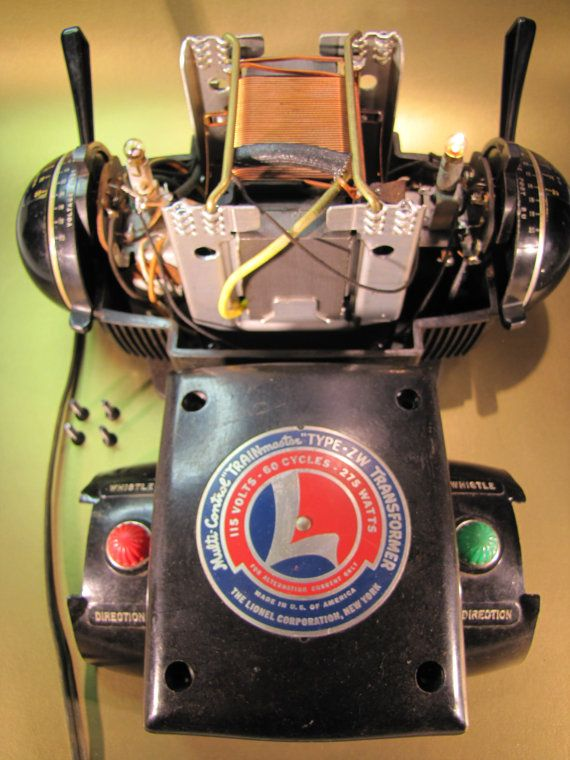 Lionel Type Zw Transformer 115 Volts 60 By