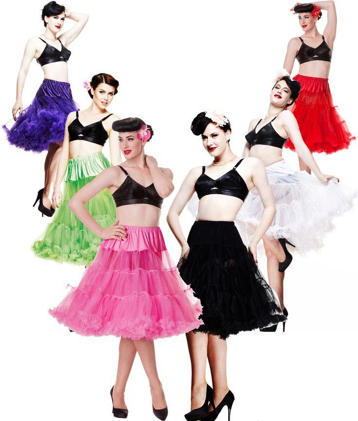 Long Petticoats (classic colours)
