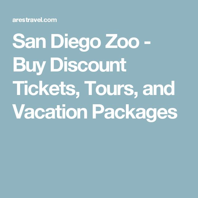 San Diego Zoo Ticket Discounts From Undercover Tourist. Undercover Tourist, a great ticket vendor we've recommended for many years, offers significant discounts on San Diego Zoo tickets and tickets for other California and Florida attractions. We really like Undercover Tourist because they constantly strive to have both the best prices and best customer service in the business.