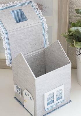 イメージ1 - ハウス型のロールペーパーケースの画像 - YOUさんのベルギー日記 改め 埼玉日記 - Yahoo!ブログ