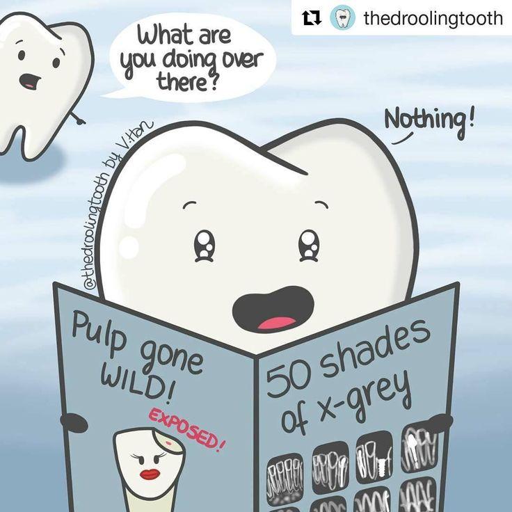 "Safadjenho  ""50 tons de cinza radiográficos. A polpa enlouqueceu - exposição da polpa"" #Repost @thedroolingtooth (@get_repost)  You'll never look at an x-ray the same way again...  #50shadesofgrey #xray #dentistry #dentalcare #dentallife #dentist #dentalschool #dentalstudent #dentalassistant #dentalhygienist #dentalhumor #odontología #odontologo #odontolove #saludbucal #thedroolingtooth Copyright  2017 All rights reserved"