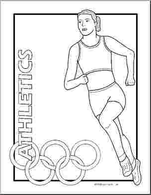 Summer olympics coloring pages The modern Olympic Games