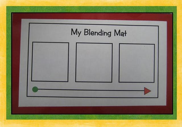 blending mats @Kristin :: Teal White Garden Drake