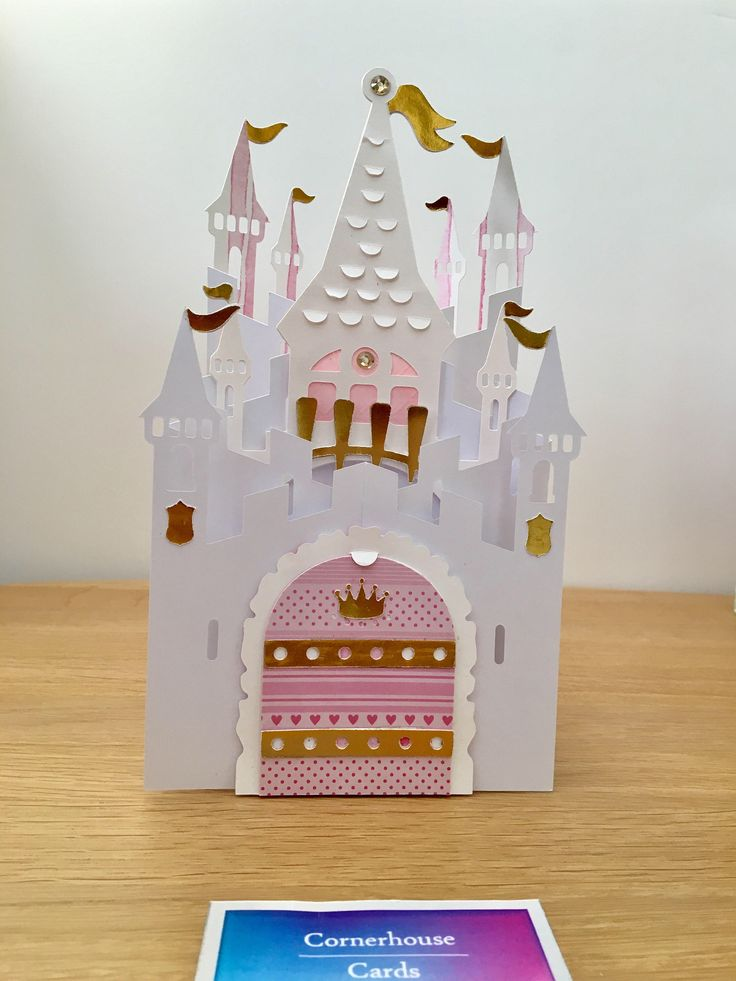 A personal favourite from my Etsy shop https://www.etsy.com/uk/listing/526700783/castle-card-for-special-girl-special