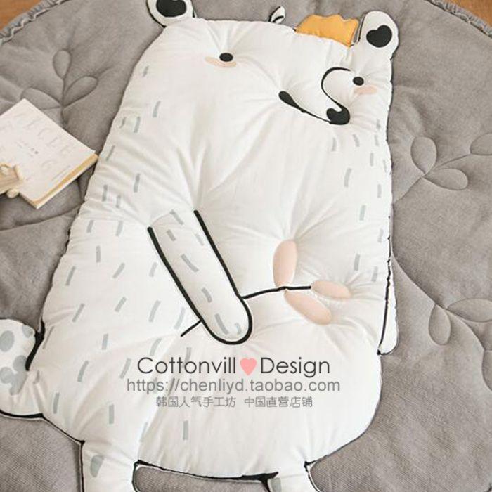 1) CottonVill_ жителя Южной Кореи импорта хлопчатобумажной ткани домашней ткани геопозиционирование _ ежа июня (1054144) - Taobao