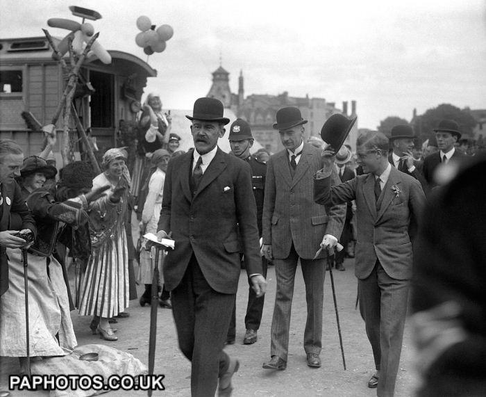 British Royal Family - Edward, Prince of Wales - Plymouth - 1921