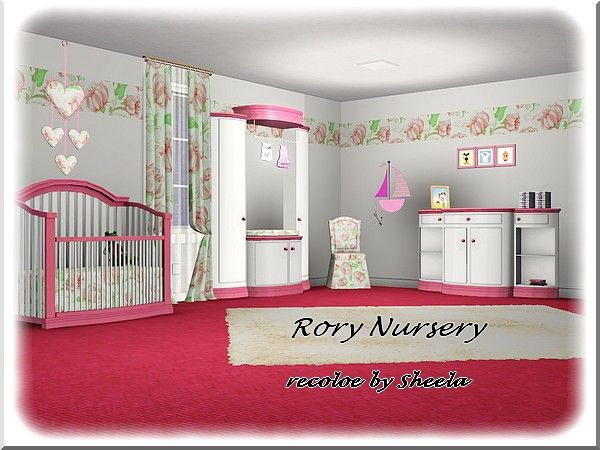 Rory Nursery Recolor By Sheela Sims 3 Downloads Cc