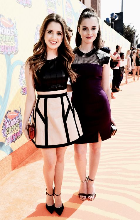 Laura and Vanessa Marano at the KCAs ♥