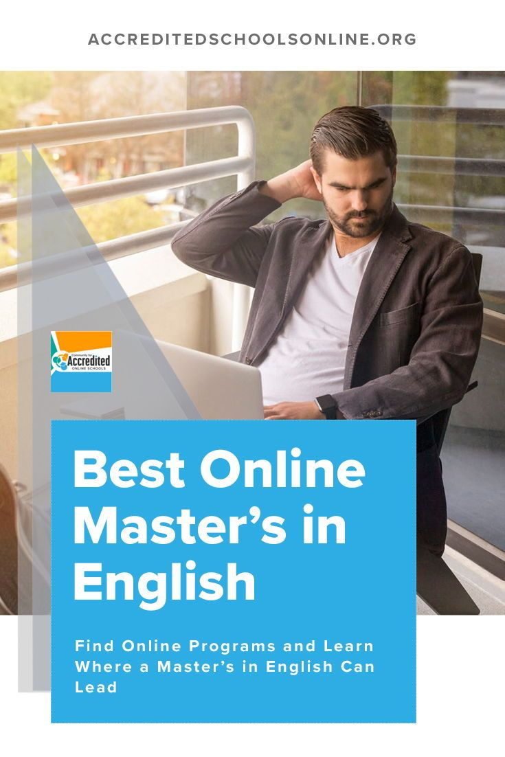 Top Online Masters Programs >> The Top Master S In English Online Degree Programs