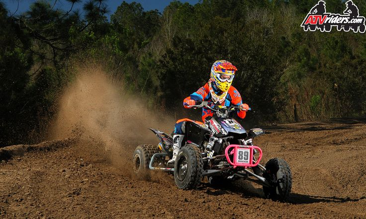 atvriders.com | FMF's #89 Cody Suggs - AMA Pro ATV Motocross Racer