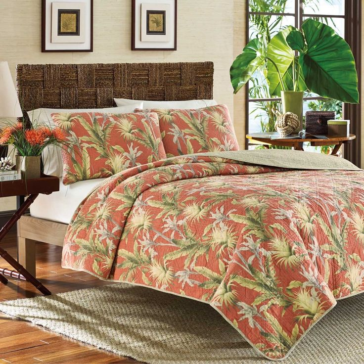 Catalina Quilt By Tommy Bahama Bedding Features A Large