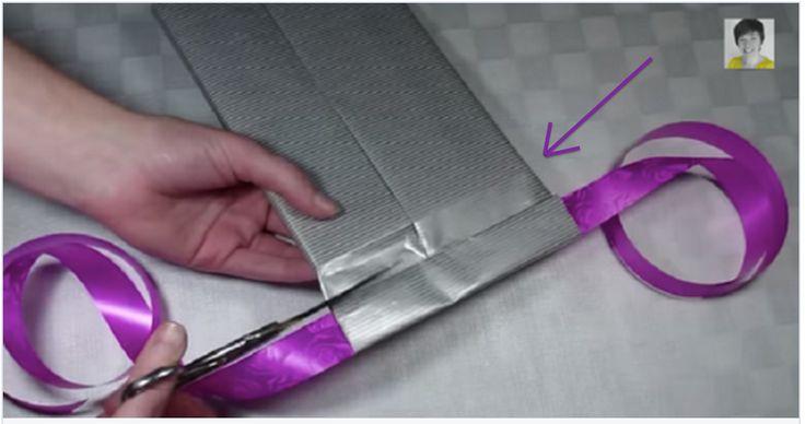 Quel plaisir de faire un cadeau original emballé d'une manière qui l'est tout autant! Pour éviter d'abîmer votre bel emballage, exercez vous au préalable avec de vieux papiers...