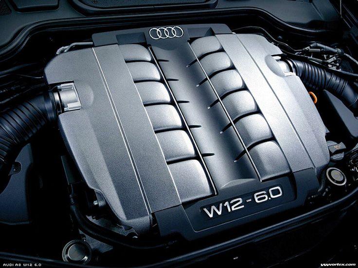 Audi W12 6.0L engine