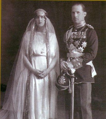 Wedding of King George II of Greece with Elisabeth of Romania
