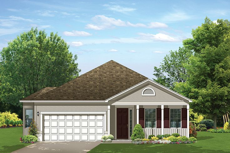 Ranch Style House Plan 1 Beds 1 5 Baths 1122 Sq Ft Plan 1058 179 Ranch Style Floor Plans Ranch Style House Plans Ranch Style Homes