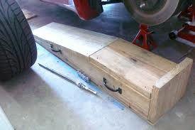 wood car ramp