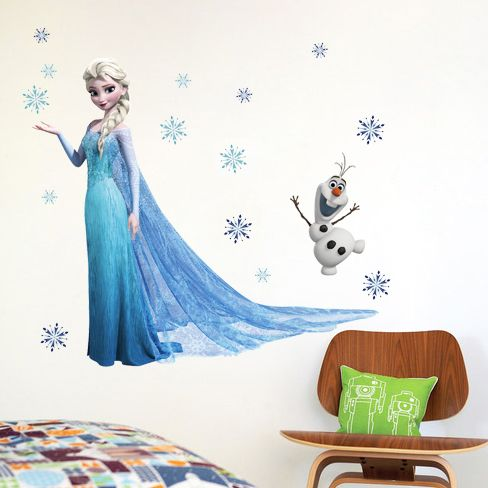 Elsa The Snow Queen Frozen Wall Sticker //Price: $11.03 & FREE Shipping //     #stickers