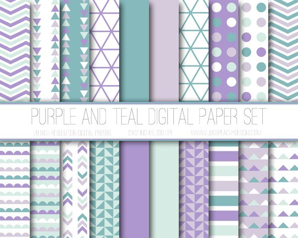 Just Peachy Designs: Digital Paper