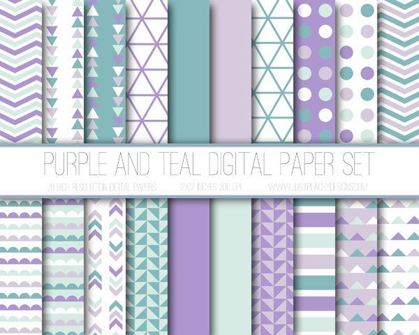 Just Peachy Designs: Digital Paper