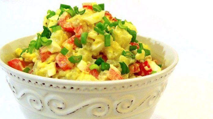 Настоящий американский картофельный салат