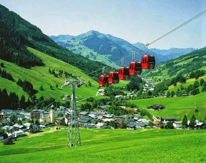 Saalbach-Hinterglemm,Salzburg, Austria:
