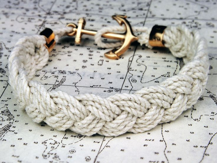 Mariner: Anchors Bracelets, Ropes Bracelets, Style, Braids Bracelets, Nautical Bracelets, Jewelry, Anchor Bracelets, Sailors, Knot Bracelets
