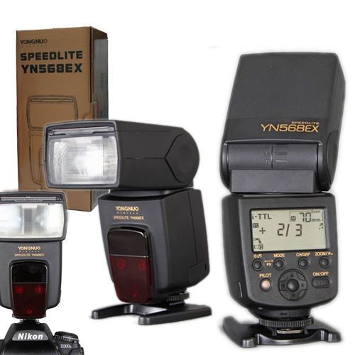 Yongnuo YN568EX YN-568EX TTL High Speed Flash Speedlite for Nikon D800 D7100 D90