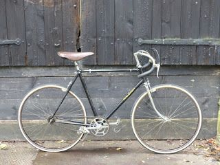 Tim Gunn: 1930's Raleigh Record Ace Racing Bicycle