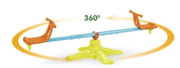 Balancín Feber 2 plazas gira 360 grados. FEBER 800010243, IndalChess.com Tienda de juguetes online y juegos de jardin