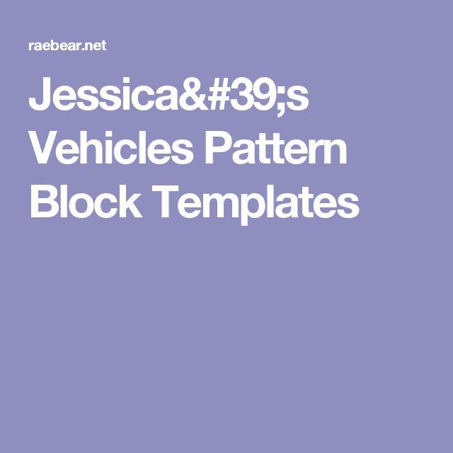 ideas about Pattern Block Templates on Pinterest   Free pattern block ...