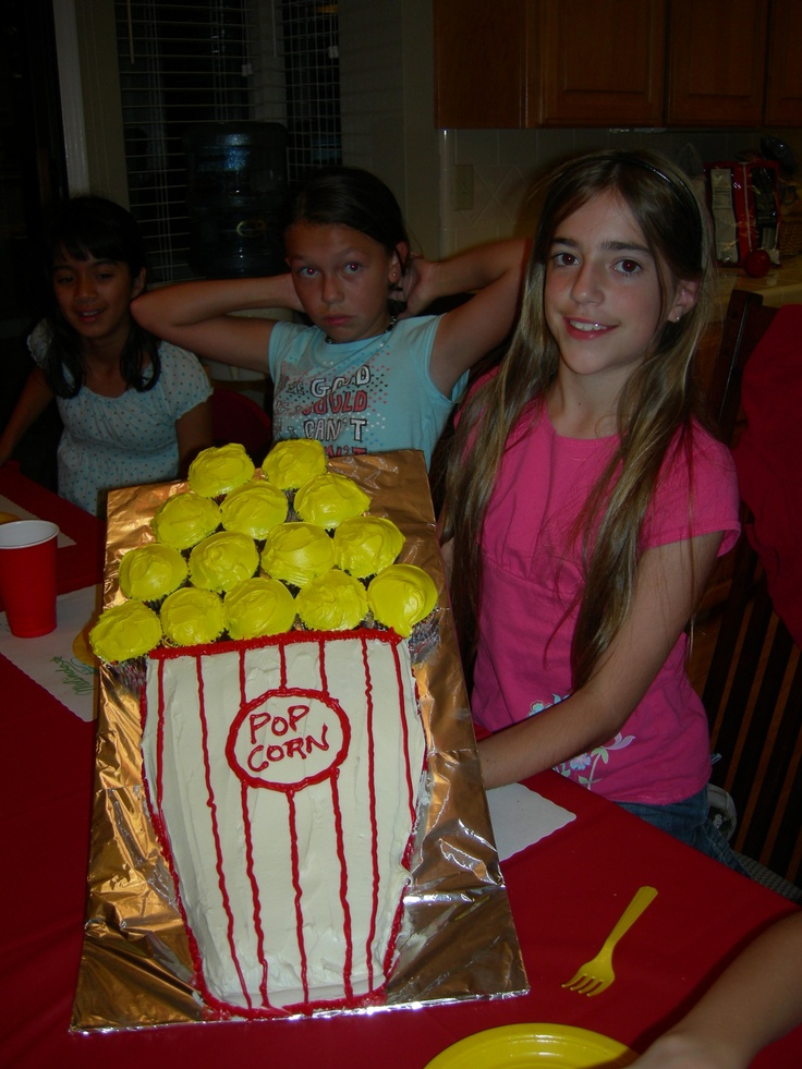 Movie Party Cake
