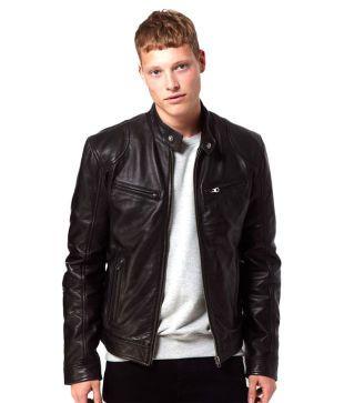V4M X-Rider Biker Genuine Leather Jacket