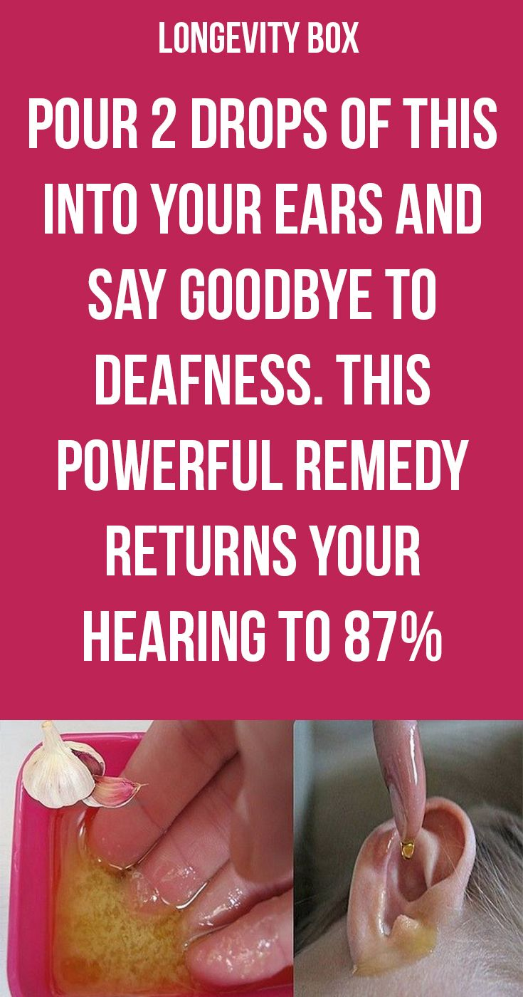 Deafness Cures Natural