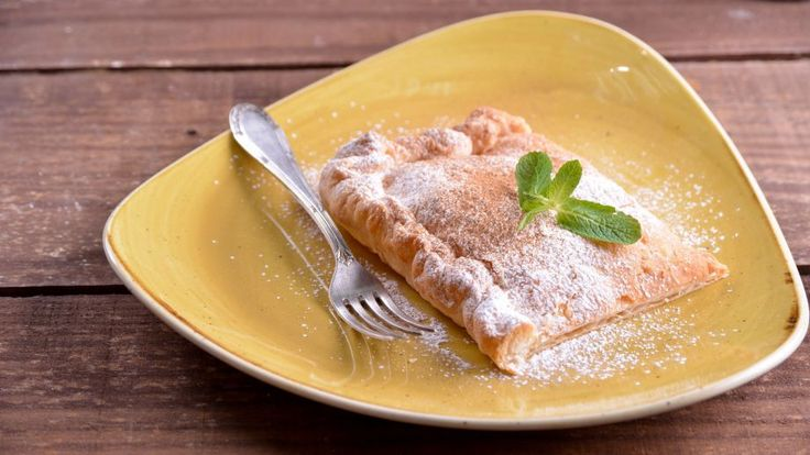 Empanada de crema pastelera (Bugatsa) - Receta - Canal Cocina