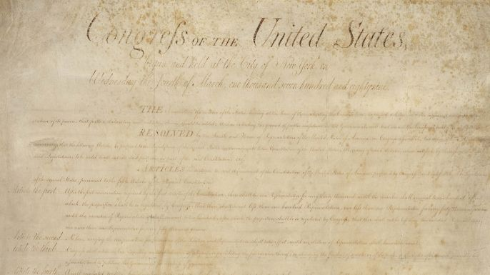 a history of the first amendment in the american constitution Anti-first amendment culture emerges remember that the first amendment, like the rest of the constitution the first amendment was not believed to protect.