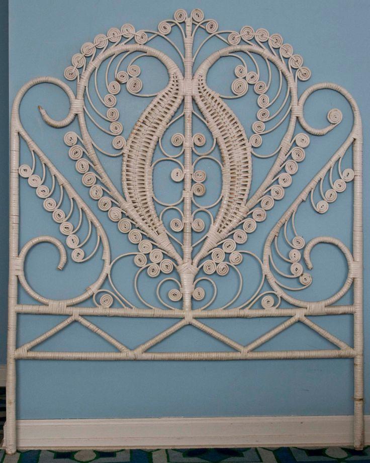 Wicker Headboards for twin beds by @Yvonne Michael |... | Wicker Furniture  www.wickerparadise.com