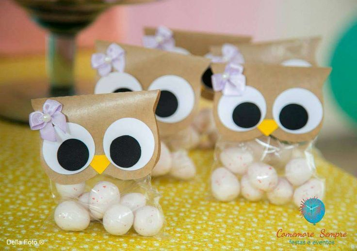 Owl birthday party treats! See more party ideas at CatchMyParty.com!