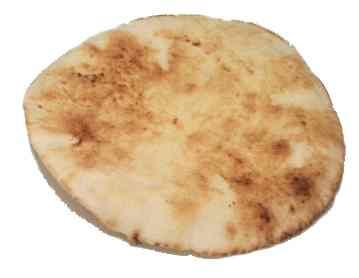 Pita bread for lunch (2 servings of grains)