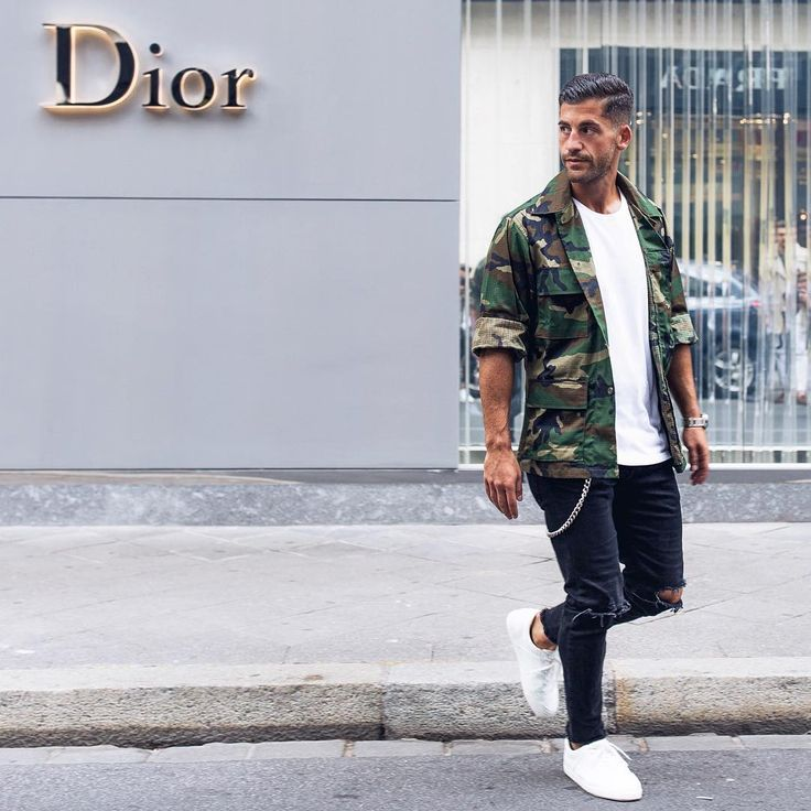 12 Men's Fashion Camouflage Apparel You Should Buy While It is Trending