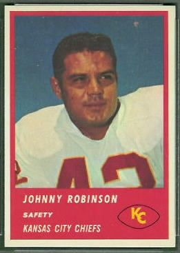 Johnny Robinson chiefs football cards | Want to use this image? See the About page .